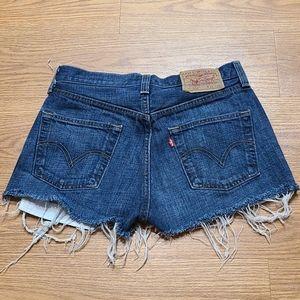 501 Levi's Cutoffs Shorts  W29 L32